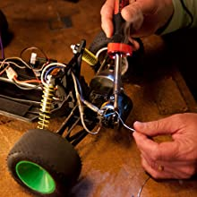 Weller, soldering iron, LED soldering iron, 40 watt soldering iron, medium duty soldering iron