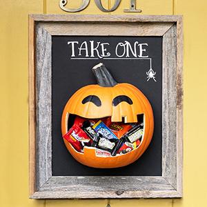 Halloween Candy, Hershey's, halloween face mask