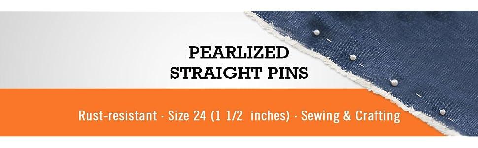 rust resistant quilt basting craft ballhead pin stick pin hijab pinsewist sewing hem alteration