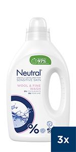 Neutral Vloeibaar Wasmiddel Fijnwas