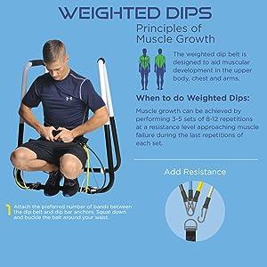 weighted dips dp belt dip stand dip station bar
