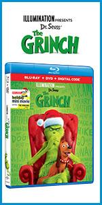 the grinch, illumination, dr. seuss, how the grinch stole christmas, 2018, dvd, 4k, bluray, family