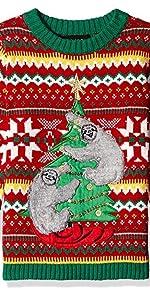 sloth funny boys sweater