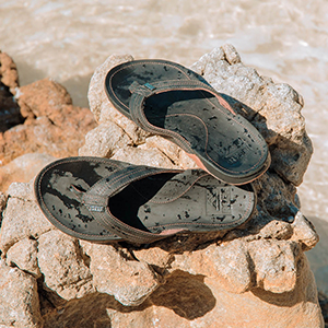 reef, sandal, bay, leather, premium, cushion, arch, support, beach, waterproof
