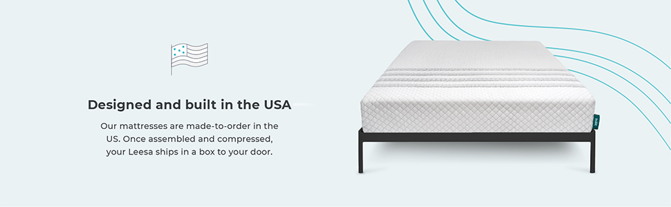 leesa luxury hybrid 11 inch mattress innerspring and premium foam king