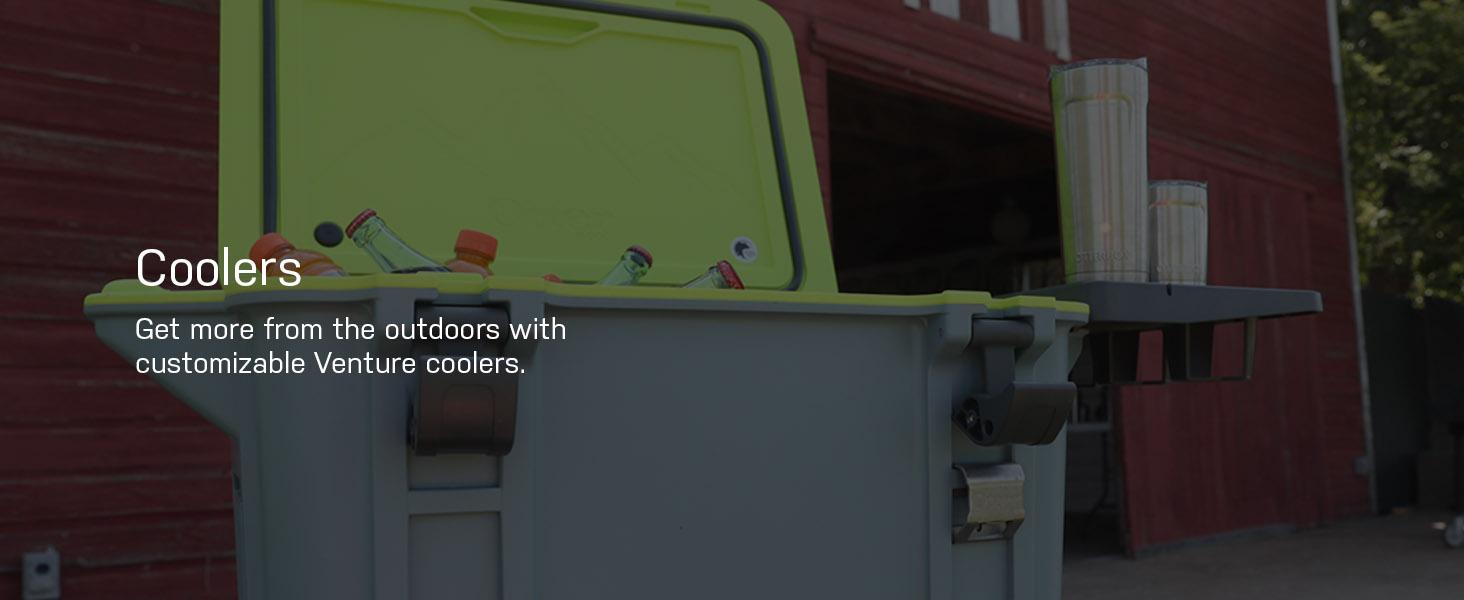 yeti, yeti cooler, igloo cooler, otterbox cooler, otterbox venture cooler