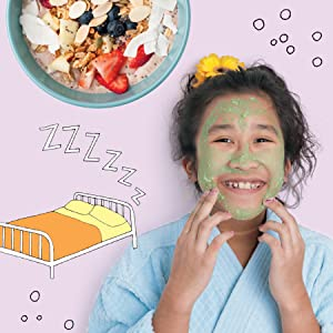 healthy habits - Girls' Home Spa Lab: All-Natural Recipes, Healthy Habits, And Feel-Good Activities To Make You Glow