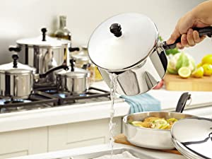 cookware, pots and pans, stainless steel cookware, stainless steel pan, pot, pan