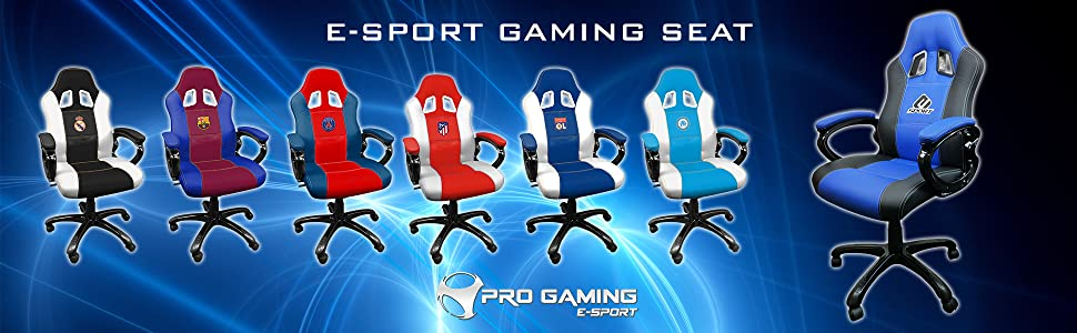 silla sillon gamer gaming esport real madrid atletico de madrid fc barcelona camisa camiseta ps4 pro