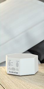 LectroFan Classic White Noise Sleep Sound Machine