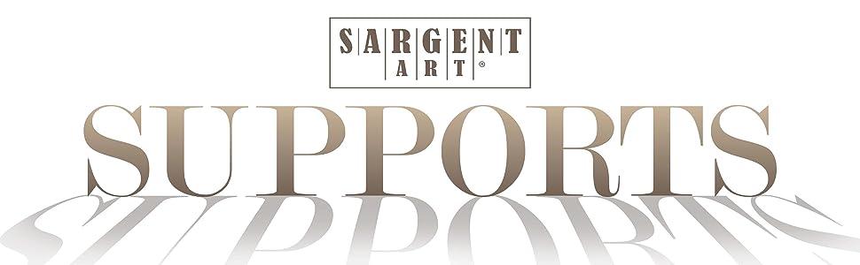 Sargent Art 90-2003 30x36-Inch 100-Percentt-Cotton Stretched Canvas