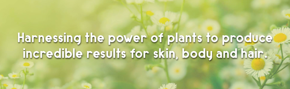 Harnessing the power of plants to produce incredible results for skin, body, and hair.