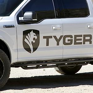 Tyger Auto Parts Running Boards Nerf Bars Rock Slider Side Step Bars Off Road