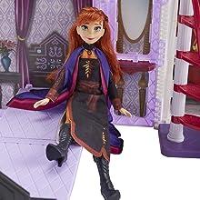 Castello, Frozen, Arendelle, Bambole, prodotto, Anna
