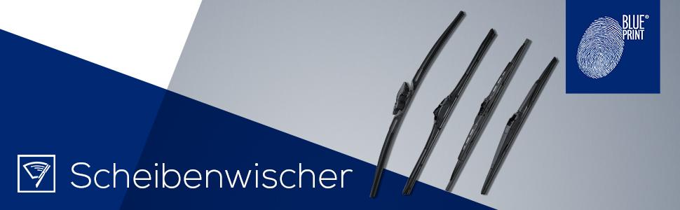 Blue Print Ad17fl430 Wischerblatt Flachbalkenausführung 1 Stück Auto