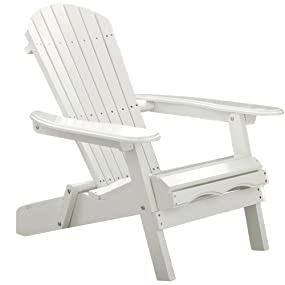 Amazon Com Merry Garden Foldable Wooden Adirondack Chair