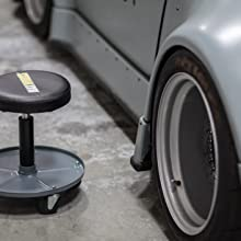 Amazon.com: maxxhaul 80771 neumática Roller Seat (Creeper ...