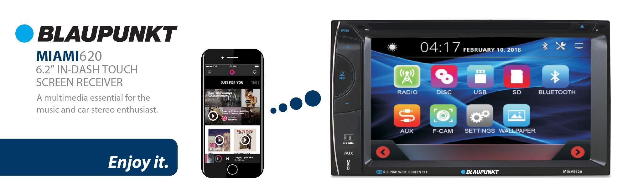 Blaupunkt Car Stereo MP3 AM FM Receiver CD DVD Aux-in SD Card High Quality 357163ee091