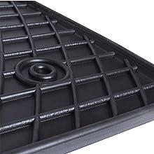/Juego de alfombras para coche de goma a medida para  Giulietta Bottari 39621