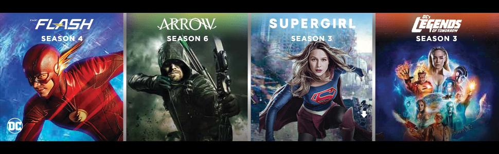 Supergirl: Season 1-3 [DVD] [2018]: Amazon co uk: Various