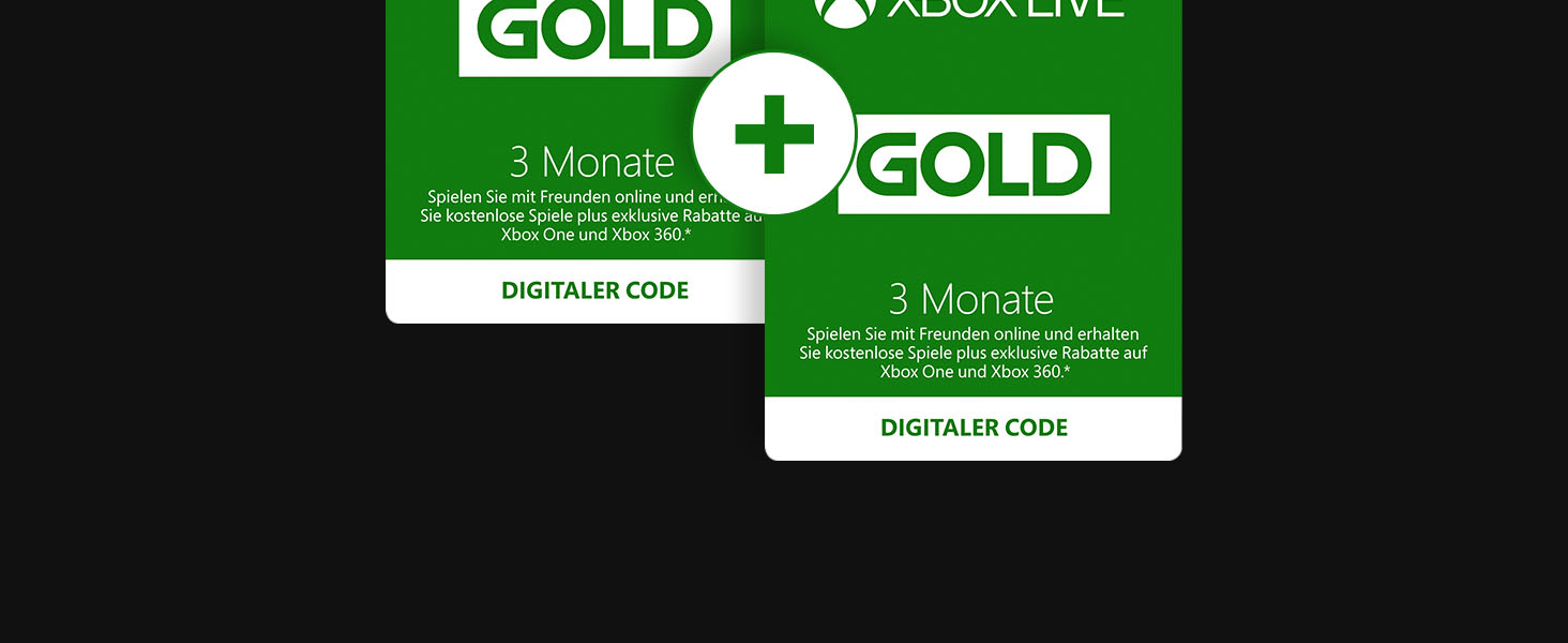 Xbox Live Gold Games Game 3 Monate Special Aktion