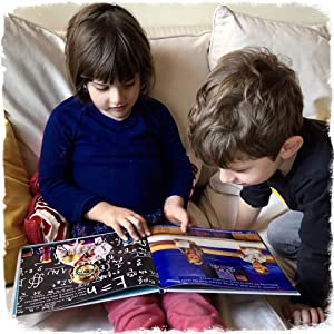 siblings, brother and sister, storytime, bedtime story, reading together, equality, gender equity