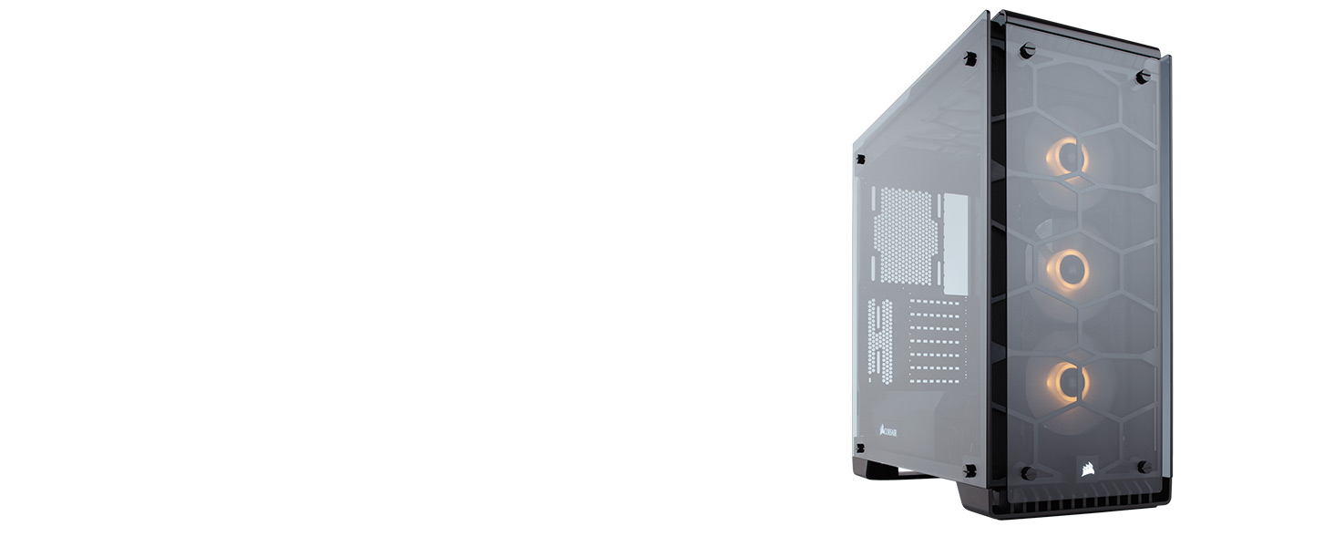 CC-9011098-WW Crystal Series 570X RGB ATX Mid-Tower Case