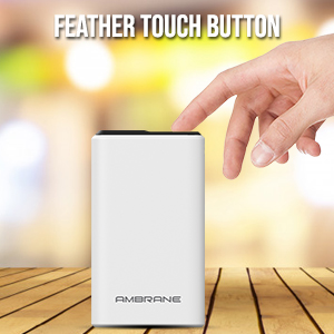 Feather Touch Power Bank