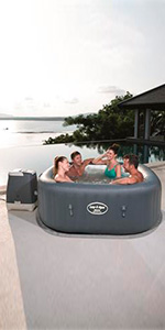 Bestway Lay- Z-Spa Hawaii HydroJet Pro Spa Hinchable: Amazon ...
