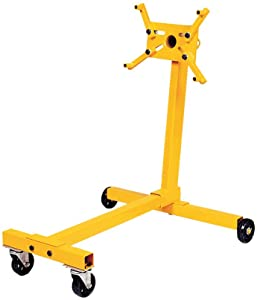 750 lb Capacity Performance Tool W41037 Rolling Engine Stand with Straps