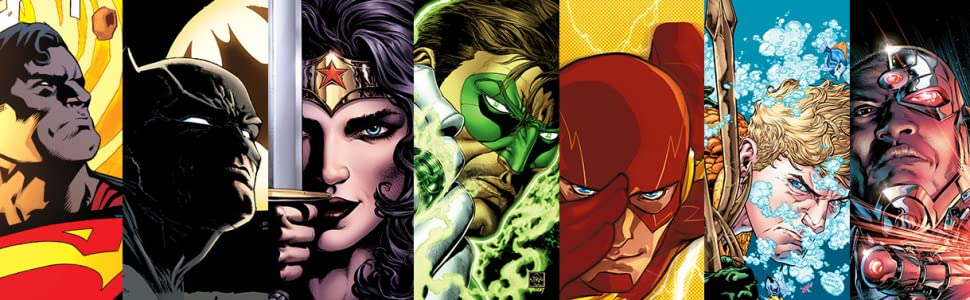 dc comics animated marvel superman batman wonder woman flash green lantern aquaman cyborg gotham