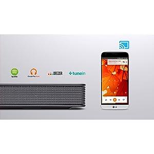 Integrierte Chromecast Audio-Software