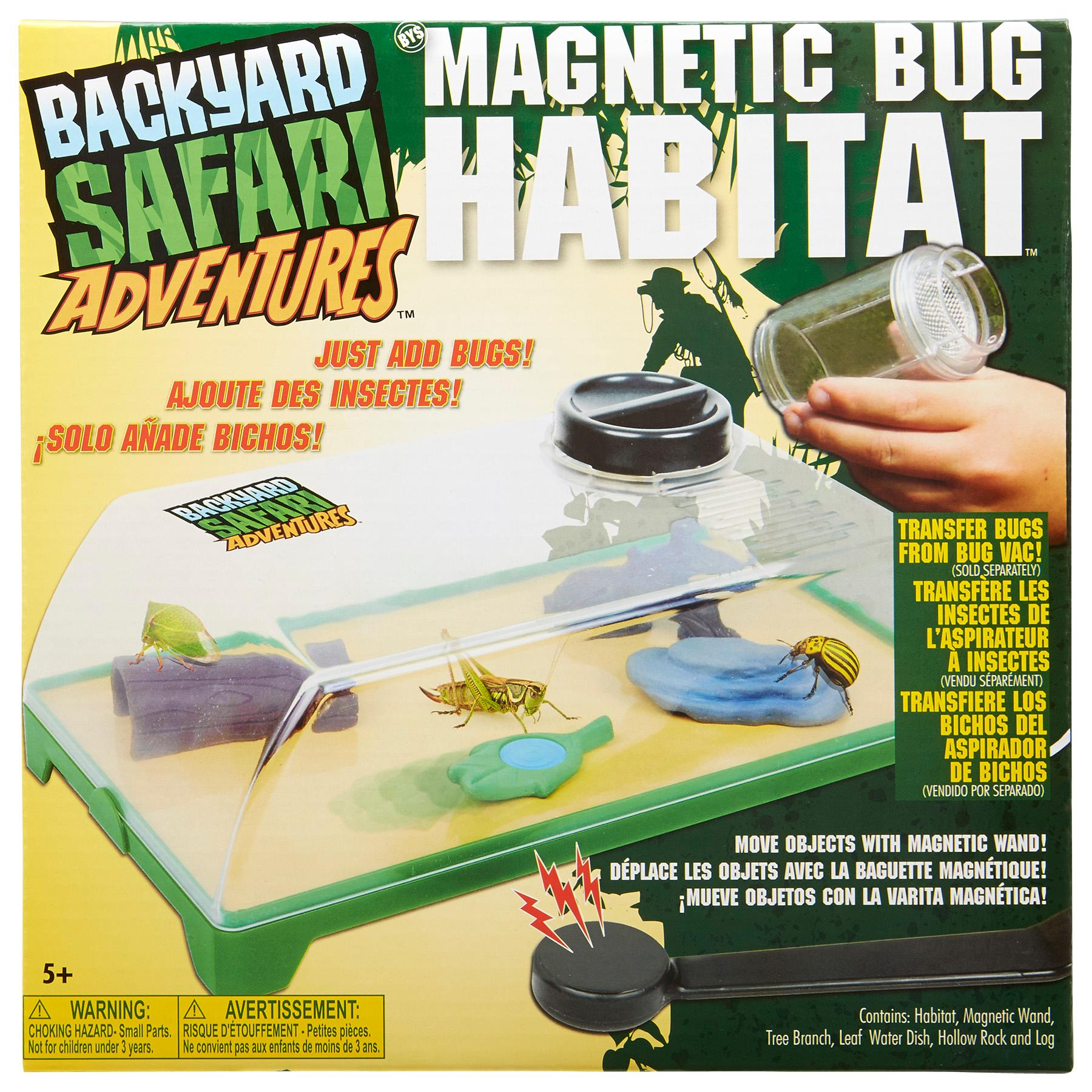 amazon com backyard safari magnetic bug habitat toys u0026 games