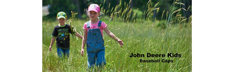 John Deere Kids Baseball Caps