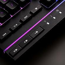 clavier, HyperX, RGB, clavier de jeu, membrane,
