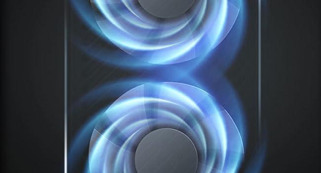 Twin Tornado Dual Fan