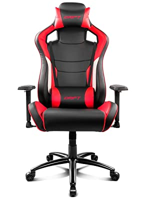 Drift DR400BR - Silla gaming, Color negro y rojo