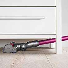 Sleek Low profile flexible vacuum heads