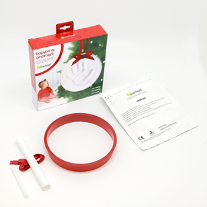 Amazon Com Pearhead Babyprints Baby S First Christmas