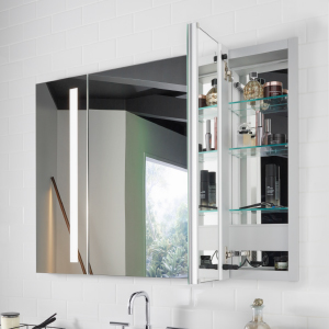 Kohler K 99007 Tl Na Verdera 24 Inch X 30 Inch Led Lighted Bathroom Medicine Cabinet Slow Close