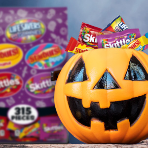 Fill up their trick or treat bags with their favorite candy.