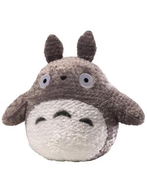 """GUND Fluffy Totoro Stuffed Animal Plush, Gray and White, 13"""""""