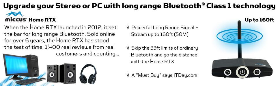 Long Range Bluetooth Transceiver extender transmitter receiver