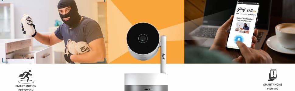 EVE NX PT - Smart Motion Detection