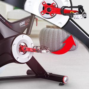 Los pedales antideslizantes
