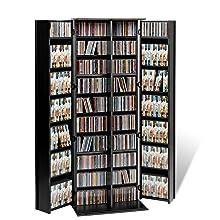 Prepac Bms 1060 4 Sided Large Spinning Media Storage