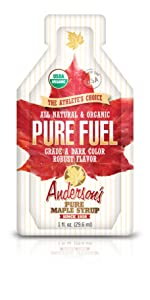 Athletic Fuel, Energy Source, Pure Maple Syrup, individual; pouches