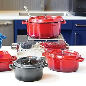 Heiss Induction, Cast Iron Alternative, Cookware