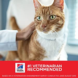 Veterinarian Recommended Veterinarians know what's best for your pet's health.