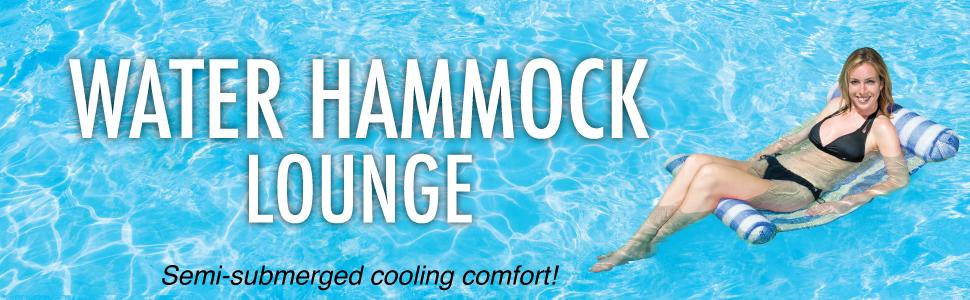 Poolmaster Water Hammock Lounge for Swimming Pools ...